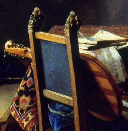 Music In The Time And Paintings Of Vermeer The Cittern