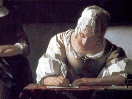 (detail) Vermeer wallpaper